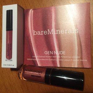 Bareminerals Gen Nude Metallic Lip Lacquer 💋